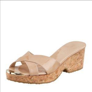 Jimmy Choo Panna Cork Sandals